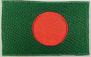 Bangladesch-Aufnaeher-gestickt-Flagge-Fahne-Patch-Aufbuegler-6-5cm-neu