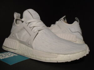 timeless design 36750 32908 Image is loading 2016-ADIDAS-NMD-XR1-PK-PRIMEKNIT-TRIPLE-WHITE-