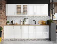 Muebles de Cocina Completa en Color Blanco 260 Cms Ref-51