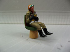 1/48 FIGURE ASSEMBLED AND PAINTED  WWII GERMAN LUFTWAFFE PILOT