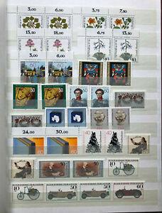 BRD-Briefmarkenalbum-Postfrisch-top-Sammlung-ab-ca-1981