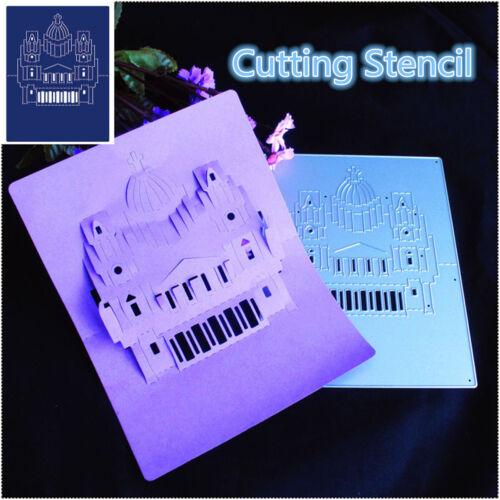 3D Church Metal Cutting Dies Stencil Scrapbooking Embossing Album Paper Craft