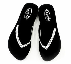 30c6ba18f Image is loading Bling-Flip-Flops-w-Swarovski-Crystals-Cute-Sandals-