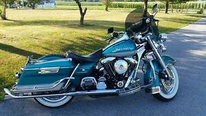 Harley-Davidson-Road-King-windshield-14-25-034-shorty-dark-tinted-Lexan-polycarbona