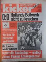 KICKER 85 - 20.10. 1988 Deutschland-Niederland 0:0 U-21 2:0 Eishockey Tennis