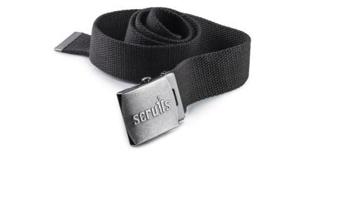 Scruffs Ripstop MULTITASCA Lavoro Pantaloni nero con ginocchiere e Cintura opzioni