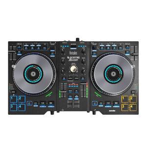 Hercules Djcontrol Jogvision-dj Controller With Built-in Mixeur & Serato Dj Lite-afficher Le Titre D'origine