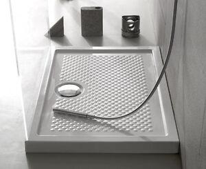 Ceramica globo docciaviva piatto doccia antiscivolo d 39 appoggio filo pavimento ebay - Box doccia globo ...