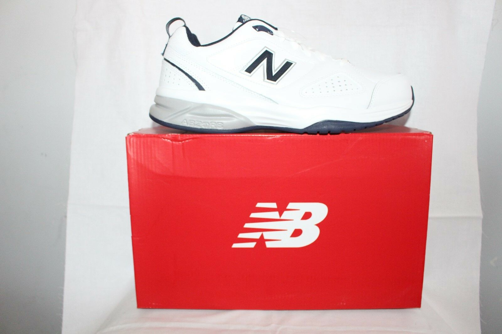 MENS zapatos FOOTWEAR - New Balance Joggers MX624 blanco 2E width