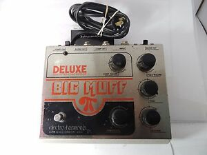 Deluxe Big Muff Pi : vintage electro harmonix deluxe big muff pi compressor fuzz effects pedal rare ebay ~ Russianpoet.info Haus und Dekorationen