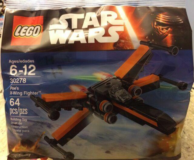 30278-30279 Polybag Sets Sealed 30275-30276 4 LEGO Star Wars Sets