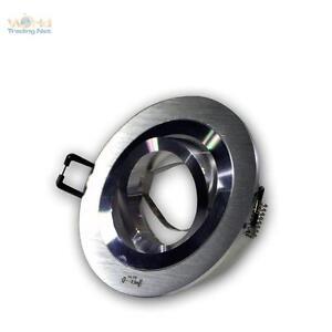 Focos-Empotrables-Redondos-Aluminio-Cepillado-Orientable-MR16-GU5-3-12V