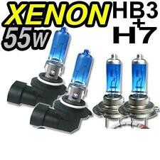 4 AMPOULE XENON SUPERWHITE H7 + HB3 POUR BMW SERIE 5 E39 PHASE 1 95-2000