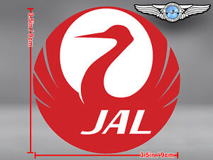 JAL-JAPAN-AIRLINES-NEW-LOGO-ROUND-STICKER-DECAL