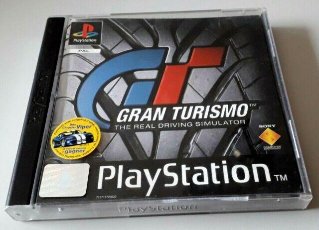 """Jeu PS1 """"Gran Turismo"""" complet en boîte (N°5985)"""