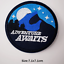 miniature 15 - Sew Iron On Round Patches Popular Badge Transfer Embroidered Funny Biker Slogan
