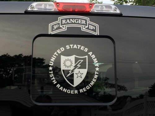 Auto Parts & Accessories US Army 75th Ranger Regiment Decal ...