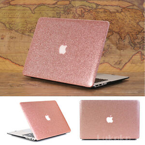 cheap for discount 1cc0c c3fca Details about Rose Gold Glitter Bling Shiny Case for MacBook Air Pro 11