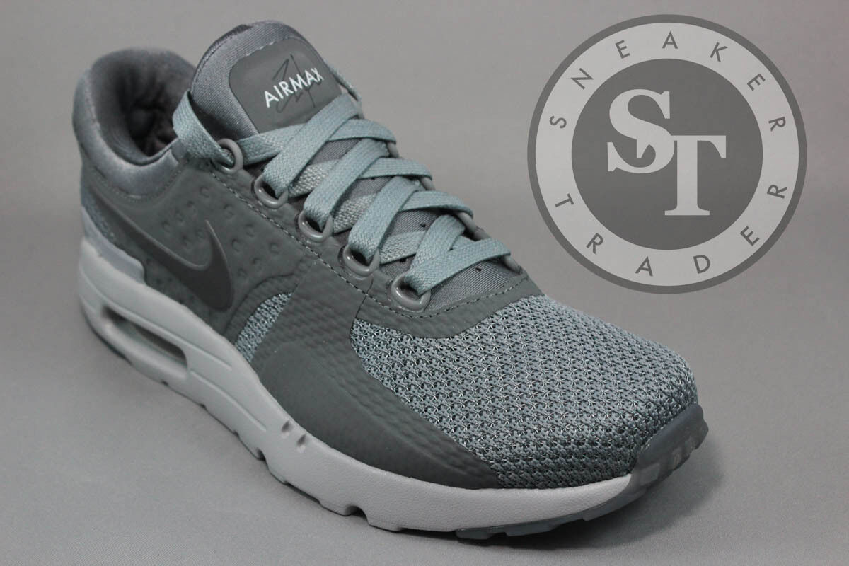 NIKE AIR MAX ZERO 0 QS 789695-003 IN HAND COOL WOLF DARK GREY DS SIZE: 8.5