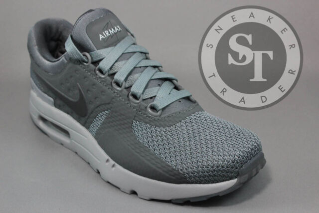 84cded245b NIKE AIR MAX ZERO 0 QS 789695-003 IN HAND COOL WOLF DARK GREY DS