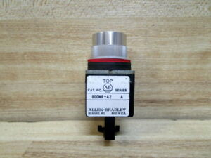 Allen Bradley 800MR-A2B Pushbutton 800MR-A2 w/ Out Contact Blocks (Pack of 4)