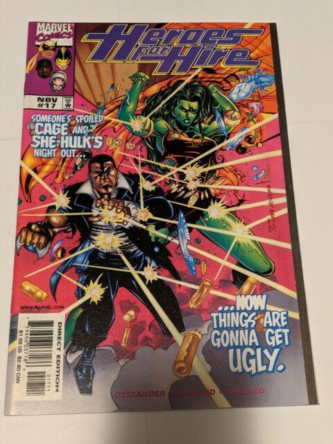 Heroes For Hire #17 November 1998 Marvel Comics Ostrander Egeland Collazo