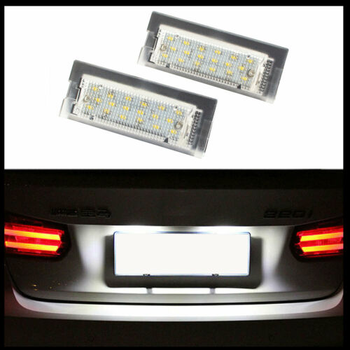 Per BMW 5er e39 Touring STATION WAGON 96-04 2x LED Premium illuminazione della targa 18 SMD