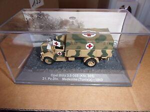 PANZER-OPEL-BLITZ-3-6-36S-HFZ305-MEDENINE-TUNISIA-1943-1-72-NUEVO-EN-CAJA