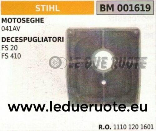11101201601 FILTRO ARIA elemento filtrante MOTOSEGA STIHL 041AV 041 AV