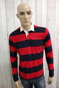 WOOLRICH-Uomo-Taglia-S-Maglia-Cotone-Casual-Maglietta-T-Shirt-Polo-Manica-Lunga