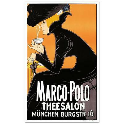 """Marco Polo"""" Hand Pulled Lithograph by the RE Society NEW"""