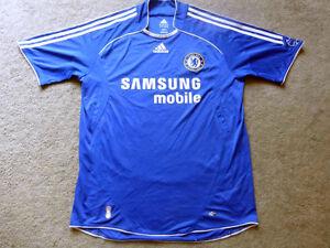 ac09f0488 Chelsea 06 07 L Adidas Football Shirt Soccer Jersey Camesita Trikot ...