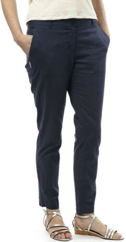 Craghoppers Odette Womens Pants Navy Lightweight Smart Casual Travel Trousers