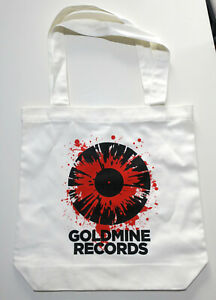 GOLDMINE-RECORDS-High-Quality-100-Cotton-Tote-Bag-Easily-fits-20-LPs