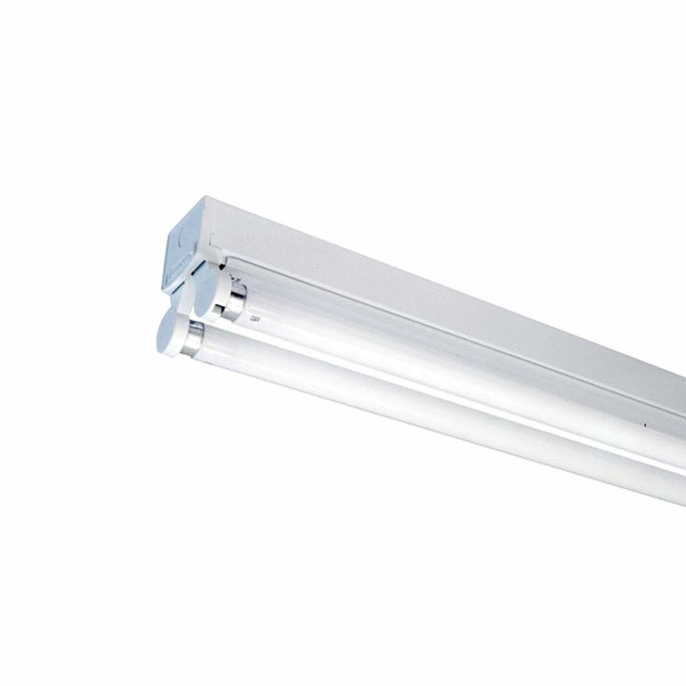 Led T8 5ft 1500mm Single Batten Fitting Fixture With S Cool White 6000k