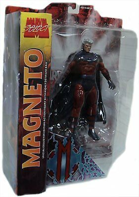 Marvel Select Action Figure Magneto No Helmet Variant by X Men