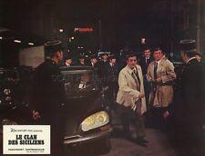 LINO VENTURA LE CLAN DES SICILIENS 1969 VINTAGE LOBBY CARD #12 CITROEN DS
