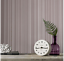Boutique Palma Striped Metallic effect Embossed Wallpaper DECORATE FEATURE WALL