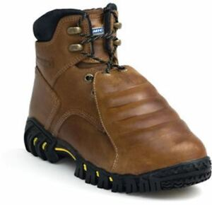998b8cbc4fe Details about Michelin Men's Sledge Steel Toe Metatarsal Work Boots Brown  XPX761