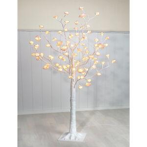 Led Rosenbaum Weiss 150cm Blutenbaum Lichterbaum Weihnachten