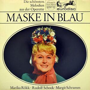 7-034-FRED-RAYMOND-Maske-in-Blau-RUDOLF-SCHOCK-amp-MARIKA-ROKK-Julischka-aus-Budapest