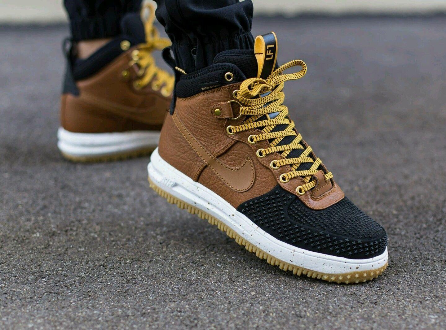 Nike Lunar Air Force One 1 Sneakerboot Duckboot 805899-004