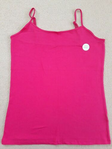 ❤PRIMARK Ladies Girls Stretch Plain Cami Vest Strap Camisole Top Sizes 10-14 New