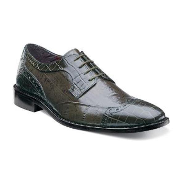 produttori fornitura diretta Uomo Stacy Adams Dress scarpe GALLETTI GALLETTI GALLETTI 24936 Olive Wing Tip Oxfords Leather  10  divertiti con uno sconto del 30-50%