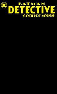 Detective-Comics-1000-RARE-MIDNIGHT-BLACK-BLANK-SKETCH-COVER-VARIANT