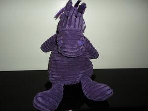 Jellycat London Uk Purple HORSE Corduroy Stuffed Toy 14 inch