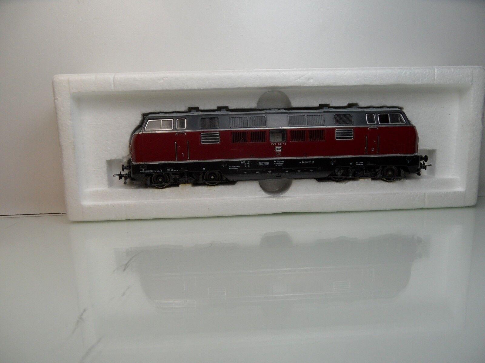 Fleischmann 4235 - H0 - DB - Diesellok 221 131-6 - OVP -  3457