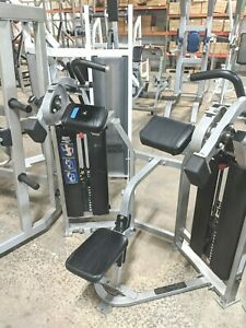 hammer strength mts biceps curl isolateral weight stack