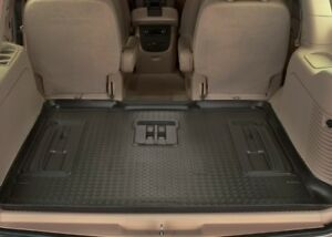 Husky-Liners-Classic-Style-Floor-Mats-Cargo-23901-Ford-Excursion-00-05-Black