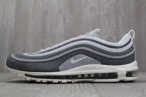 Detalles acerca de 35 para hombre Nike Air Max 97 Premium Gris Lobo Blanco Running Zapatos Talla 15 312834 005 mostrar título original
